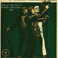 Cover of Carry On. Soldier, sailor, and Marine hold torch.