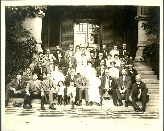 The eighteenth convention of American Instructors of the Deaf, Odgen, Utah, July 1908.