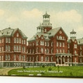 State School for the Deaf, Frederick, Maryland. A large ornate building.